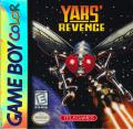Yars' Revenge Game Boy Color Front Cover