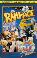 Rampage ZX Spectrum Front Cover