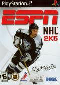ESPN NHL 2K5 PlayStation 2 Front Cover