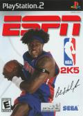 ESPN NBA 2K5 PlayStation 2 Front Cover