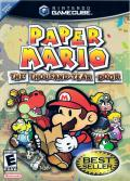 Paper Mario: The Thousand-Year Door GameCube Front Cover