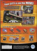 SimCity 4: Rush Hour Windows Back Cover
