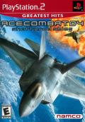 Ace Combat 04: Shattered Skies PlayStation 2 Front Cover