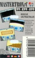 Rescue on Fractalus! ZX Spectrum Back Cover