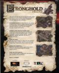 FireFly Studios' Stronghold Deluxe Windows Back Cover