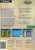The Battle of Olympus NES Back Cover