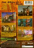 Tao Feng: Fist of the Lotus Xbox Back Cover