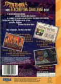 The Amazing Spider-Man: Web of Fire SEGA 32X Back Cover