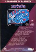 Zaxxon Commodore 64 Back Cover