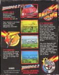 Chase H.Q. II: Special Criminal Investigation ZX Spectrum Back Cover