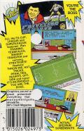 1st Division Manager ZX Spectrum Back Cover