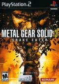 Metal Gear Solid 3: Snake Eater PlayStation 2 Front Cover