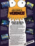 The Simpsons: Bart's House of Weirdness DOS Back Cover