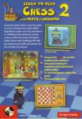 Learn to Play Chess with Fritz & Chesster 2: Chess in the Black Castle Windows Back Cover