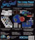SimEarth: The Living Planet DOS Back Cover