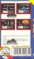 Feud ZX Spectrum Back Cover