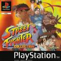 Street Fighter Collection PlayStation Front Cover