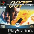 007: The World is Not Enough PlayStation Front Cover