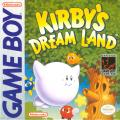 Kirby's Dream Land Game Boy Front Cover
