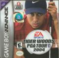 Tiger Woods PGA Tour 2004 Game Boy Advance Front Cover