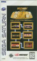 Arcade's Greatest Hits: The Atari Collection 1 SEGA Saturn Front Cover