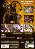 Spider-Man 2 PlayStation 2 Back Cover