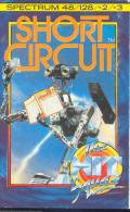 Short Circuit ZX Spectrum Front Cover