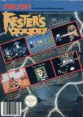 Fester's Quest NES Back Cover