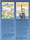 The Games: Winter Edition Commodore 64 Inside Cover