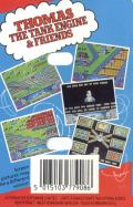 Thomas the Tank Engine & Friends Commodore 64 Back Cover