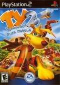 TY the Tasmanian Tiger 2: Bush Rescue PlayStation 2 Front Cover