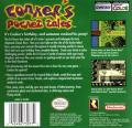 Conker's Pocket Tales Game Boy Color Back Cover
