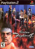 Virtua Fighter 4 PlayStation 2 Front Cover