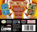Feel the Magic XY/XX Nintendo DS Back Cover