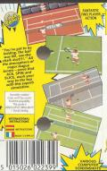 Pro Tennis Simulator ZX Spectrum Back Cover
