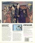 James Clavell's Shogun Apple II Back Cover