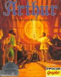 Arthur: The Quest for Excalibur Apple II Front Cover