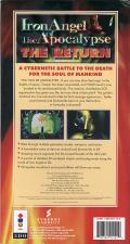 Iron Angel of the Apocalypse: The Return 3DO Back Cover