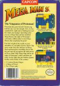 Mega Man 5 NES Back Cover