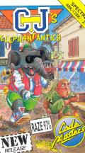 CJ's Elephant Antics ZX Spectrum Front Cover