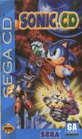 Sonic CD SEGA CD Front Cover