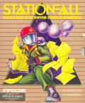 Stationfall Apple II Front Cover