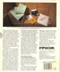 Stationfall Apple II Back Cover