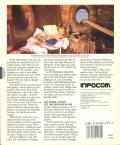 Plundered Hearts Apple II Back Cover