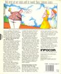 Nord and Bert Couldn't Make Head or Tail of It Apple II Back Cover