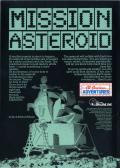Hi-Res Adventure #0: Mission Asteroid Apple II Back Cover