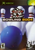 AMF Bowling 2004 Xbox Front Cover