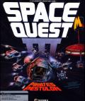 Space Quest III: The Pirates of Pestulon Atari ST Front Cover