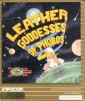Leather Goddesses of Phobos Apple II Front Cover