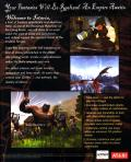 Horizons: Empire of Istaria Windows Back Cover